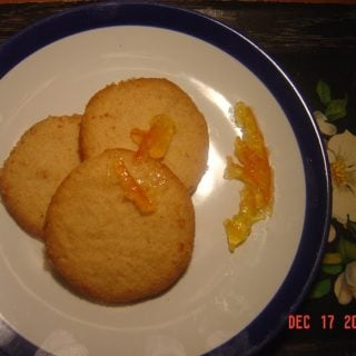 No-Butter Almond Shortbread Cookies