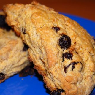Black Currant Scones Fit For A Queen