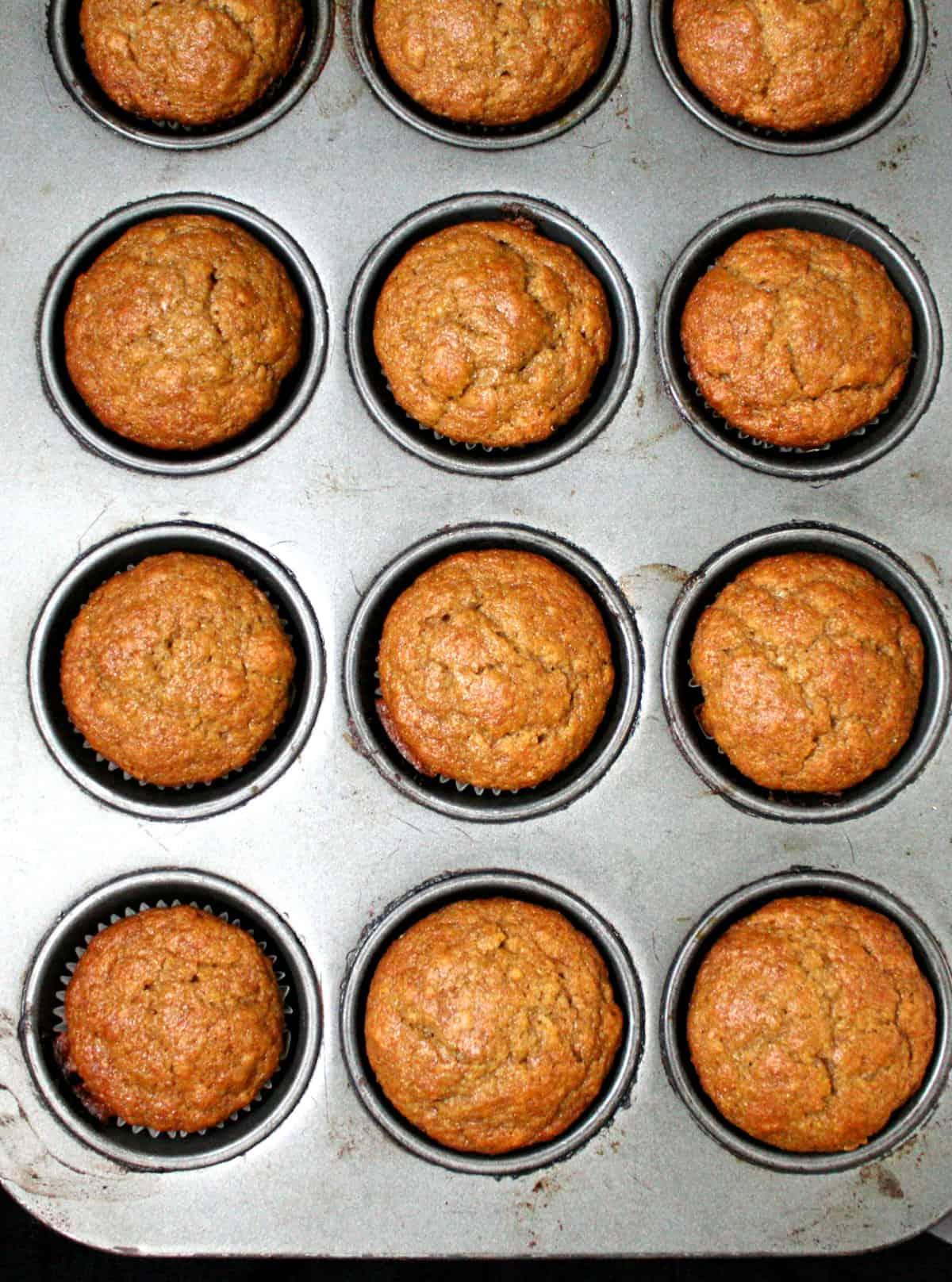 Muffins de Banana Veganos | Vaca sagrada! Receitas Veganas