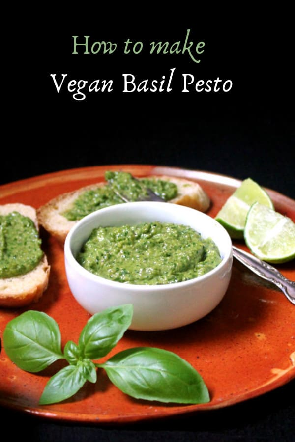 How to make Vegan Basil Pesto