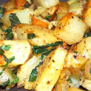 Minty Roasted Potatoes