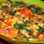 Mung Dal with Beet Greens