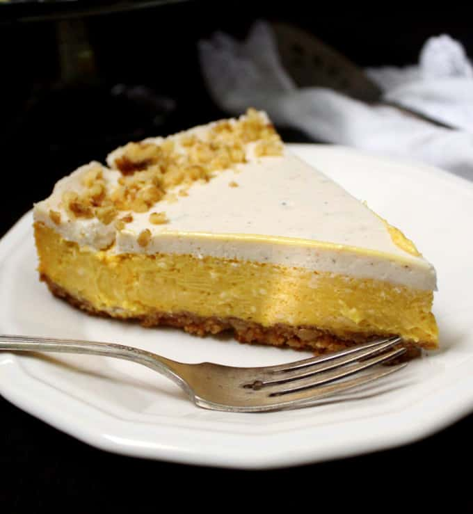 Vegan Mango Cheesecake