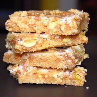 Almond Bars With A Citrusy Glaze