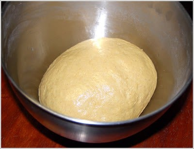 Dough for whole wheat French bread