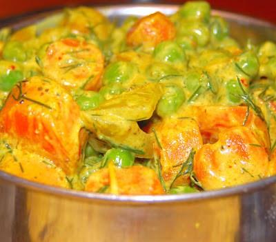 Photo of Rajasthani peas carrot sabzi