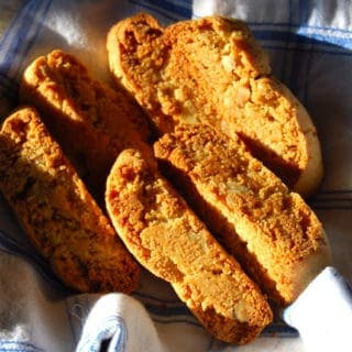 Orange Walnut Biscotti