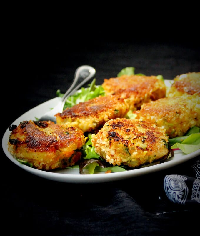 Vegetable Cutlet - holycowvegan.net