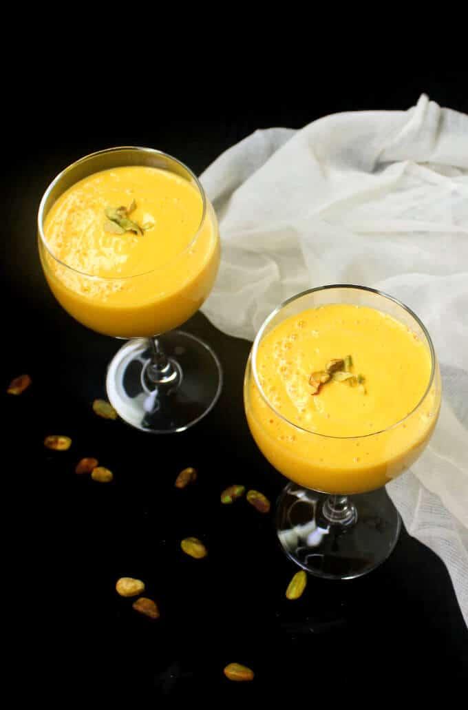 Vegan Mango Lassi - holycowvegan.net