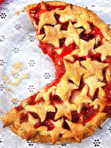 Vegan Strawberry Pie - holycowvegan.net