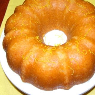 Lemon Poppy Seed Bundt Cake with a Lemon Glaze