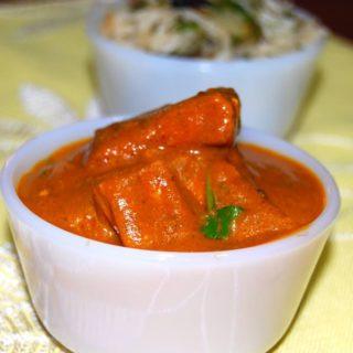 """tofu """"shrimp"""" curry"""