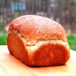 Whole-Wheat Maple Oatmeal Bread