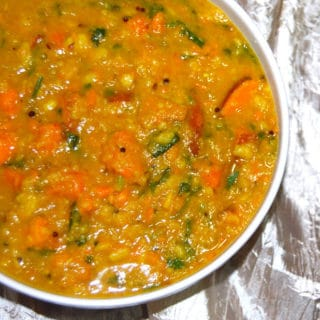 Sweet Potato and Vaal Dal Curry