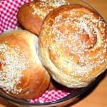 Garlic Hamburger Buns