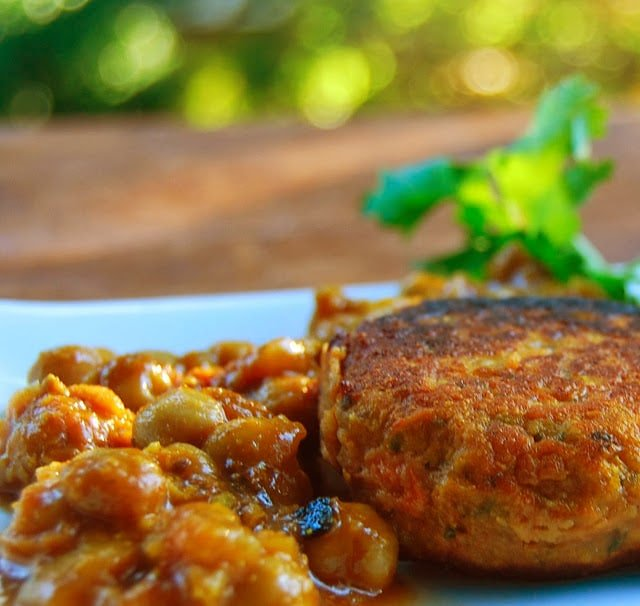 Sweet Potato and Kale Patties - Holy Cow! Vegan Recipes