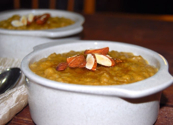 Pumpkin and Brown Rice Pudding