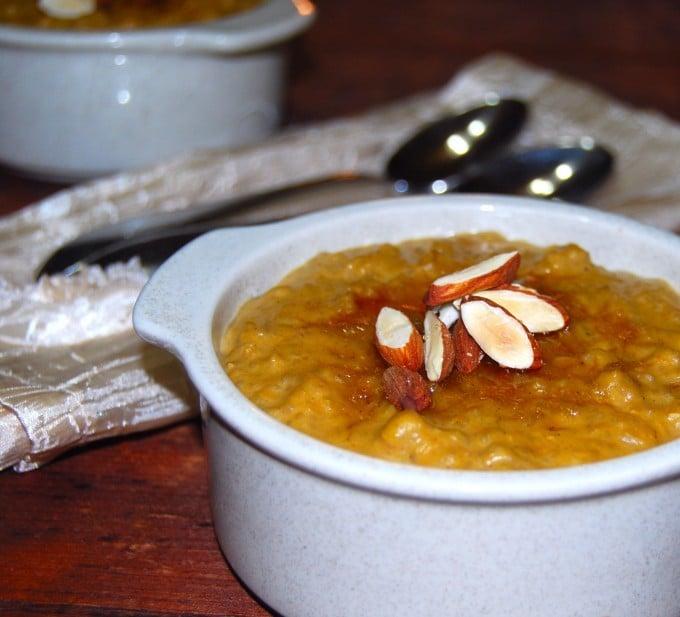 Vegan Pumpkin Brown Rice Pudding