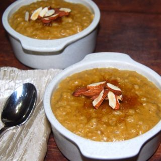 Pumpkin Brown Rice Pudding