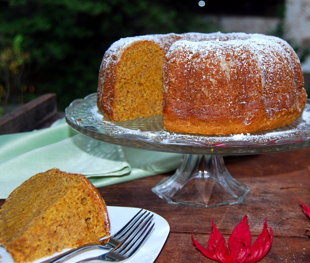 Chai-Spiced Pumpkin Bundt Cake - Holy Cow!