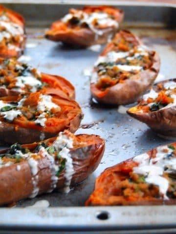 Sweet Potato Skins