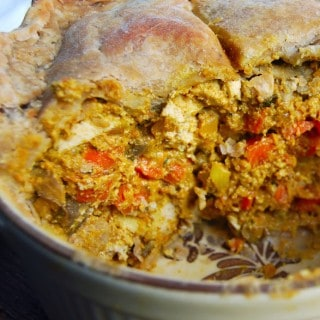 Vegan Tikka Masala Pot Pie