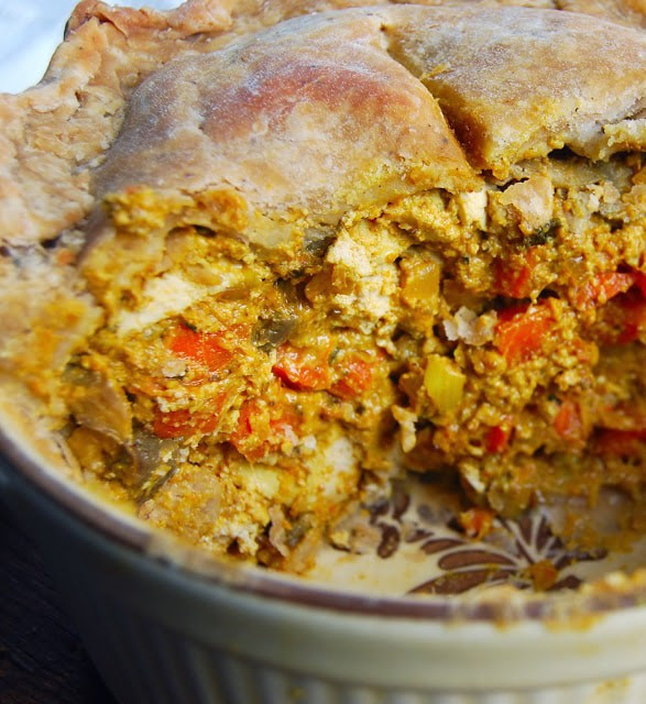 tikka masala pot pie