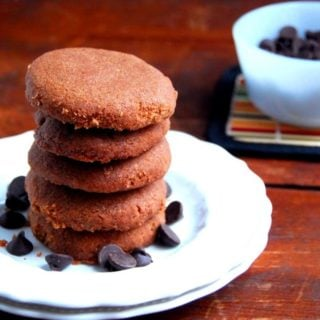Vegan Chocolate Cookies With Cinnamon