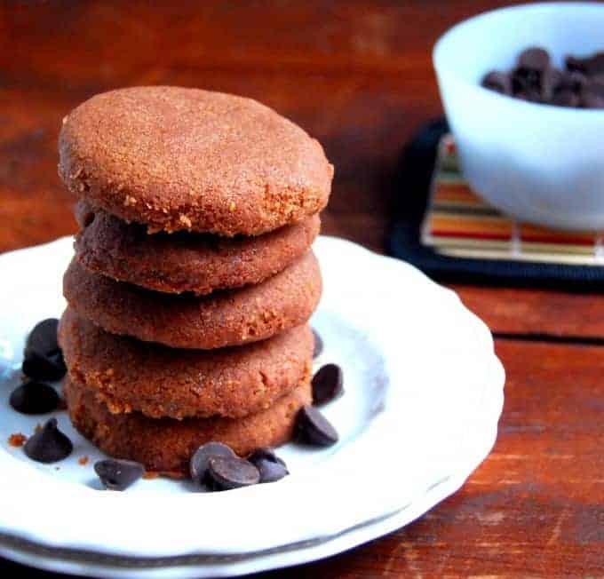 Vegan Chocolate Cinnamon Cookies