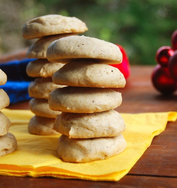 chai spice cookies, vegan