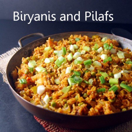 Biryanis and Pilafs
