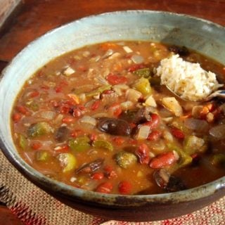 Vegan Gumbo, Fat-Free and Gluten-Free