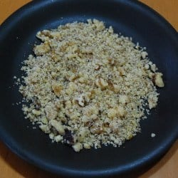 crushed walnuts