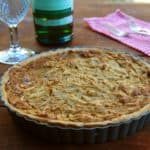 french onion tart