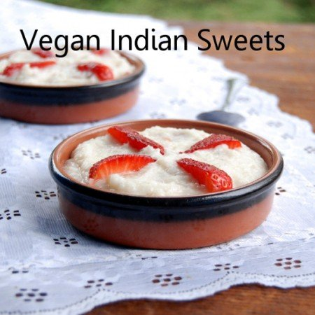 Vegan Indian Sweets