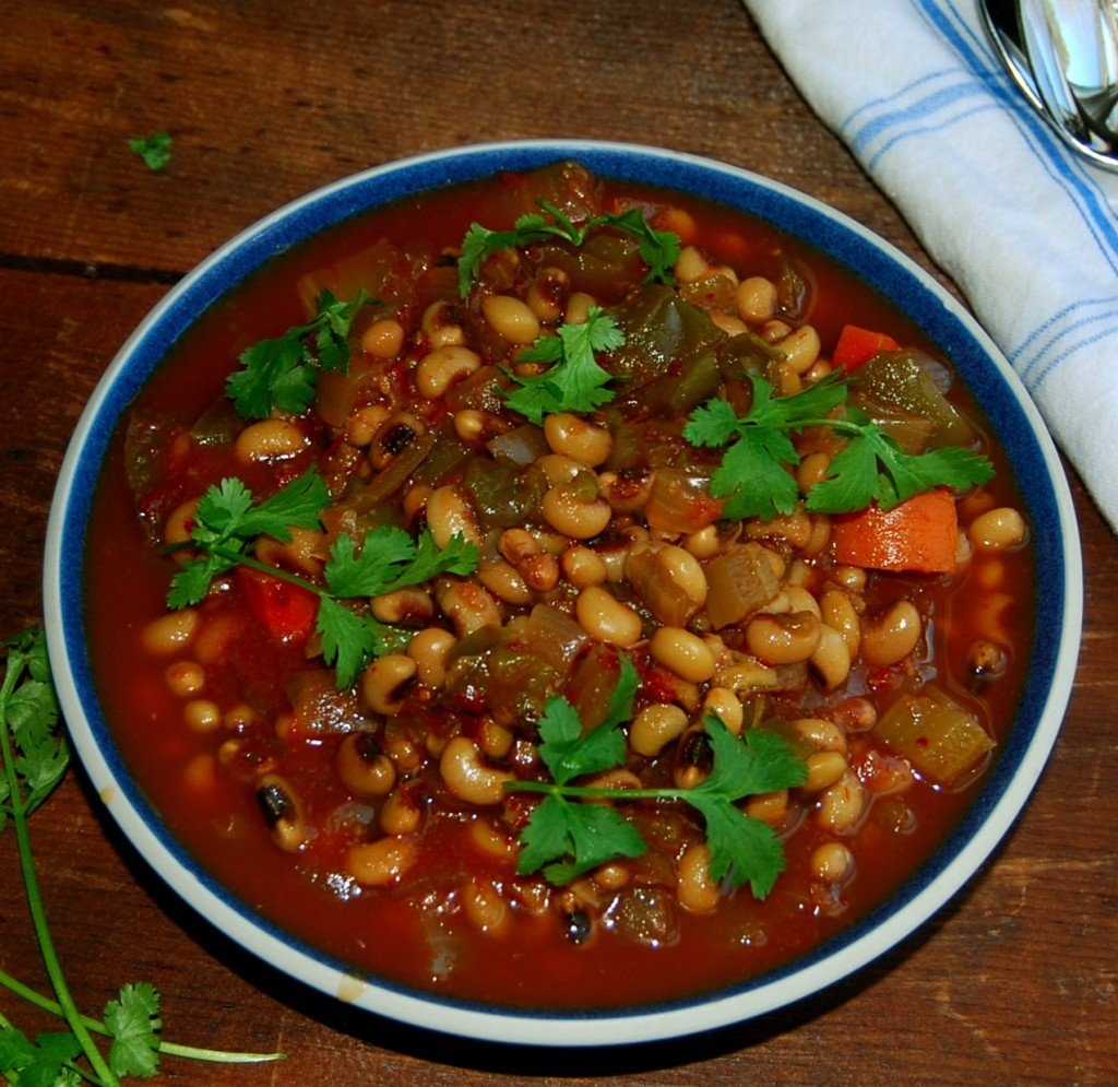 Fat free Black-Eyed Peas Stew