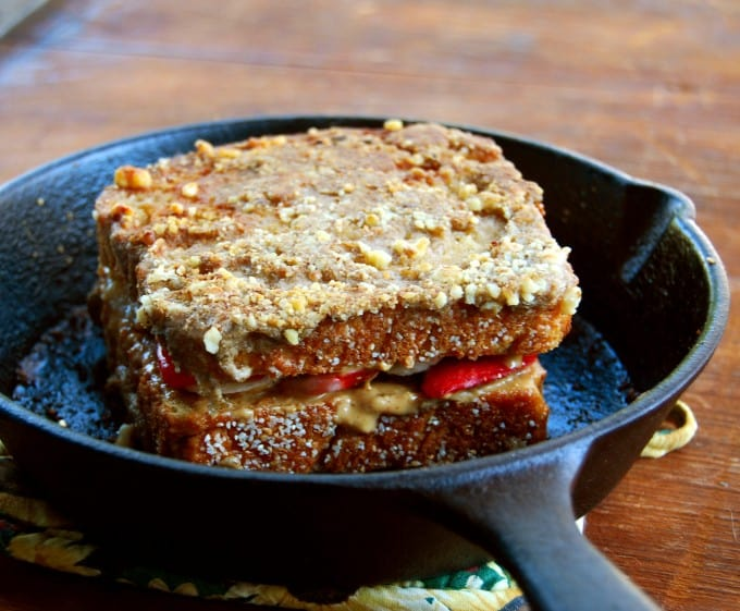 Vegan Stuffed French Toast - holycowvegan.net