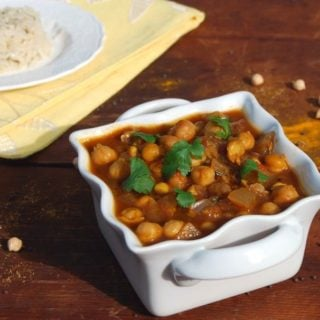 Easy Chana Masala
