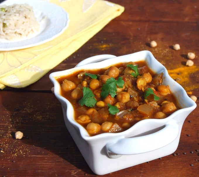 Chana Masala. Those two words set my mouth watering before I can say ...