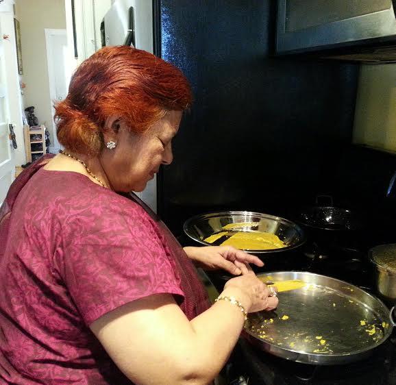 Roshani's mom