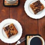 Banana Coffee Cake with Chocolate Streusel
