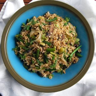 Brown Rice Salad with Dill