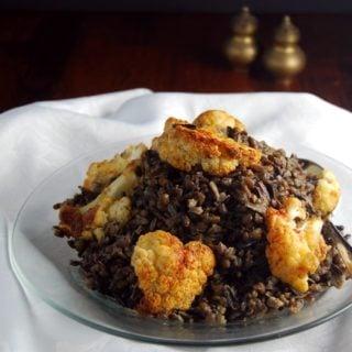 Cauliflower Wild Rice Pilaf