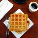 Chia waffles - holycowvegan.net