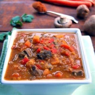 Ethiopian Lentil and Vegetable Stew