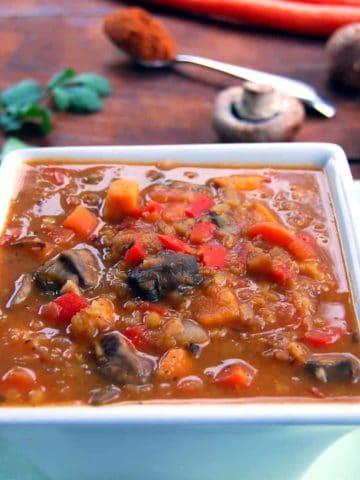 Ethiopian Lentil Stew