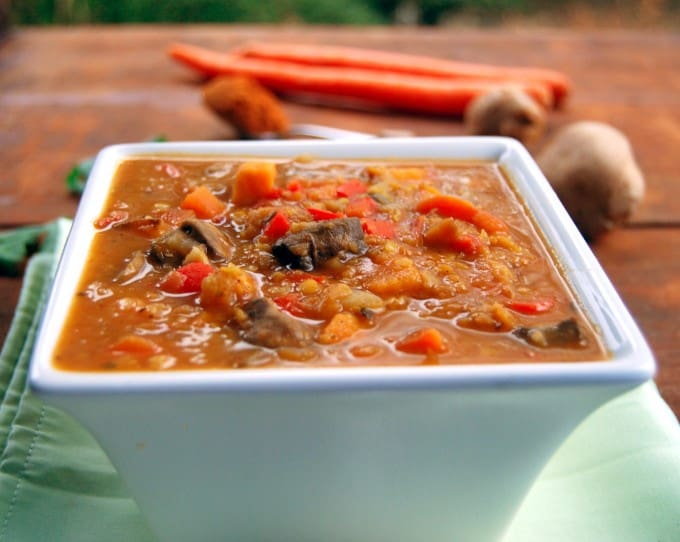 Ethiopian Lentil and Vegetable Stew