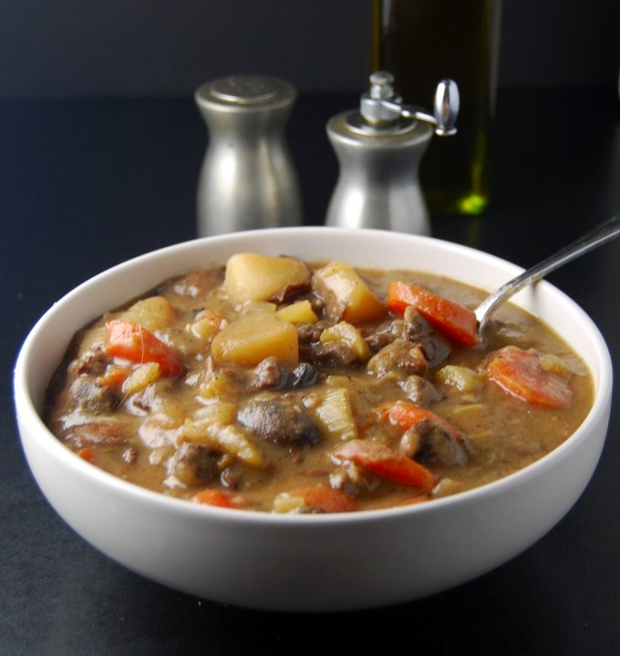 ... St. Patrick's Day with my delicious and meatless Irish Lamb Stew