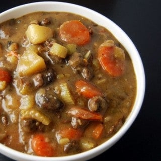 Vegan Irish Lamb Stew