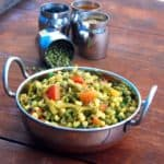 Sprouted Mung Salad (Moong Usal)